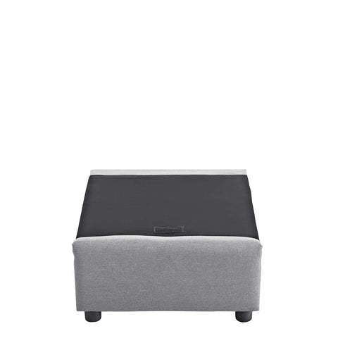 Activate Upholstered Fabric Armchair in Gray