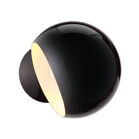 Large Bubble Wall Sconce in Black