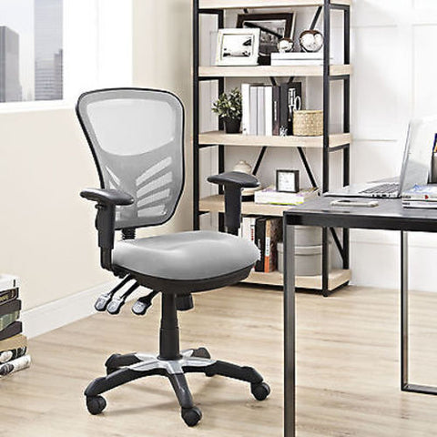 Articulate Mesh Office Chair in Gray