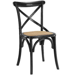 Gear Dining Side Chair in Black