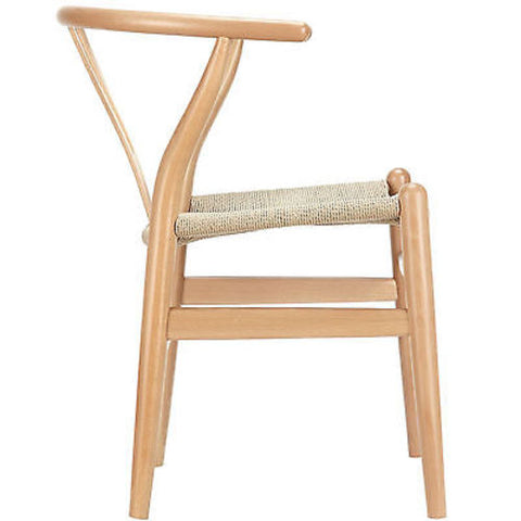 Hans Wegner Wishbone Style Chair in Natural