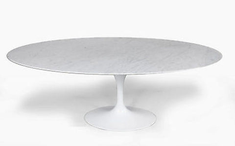 Marble Oval Dining Table 60