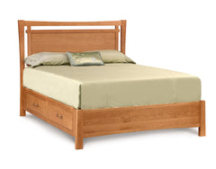 Monterey Storage Bed in Solid Cherry