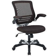 Mesh Back Office Chair in Brown