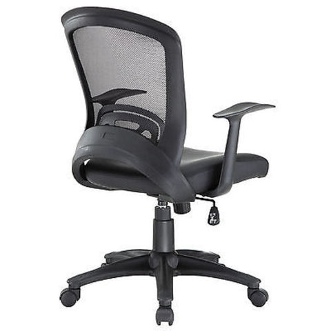 Modern Adjustable Office Chair in Black