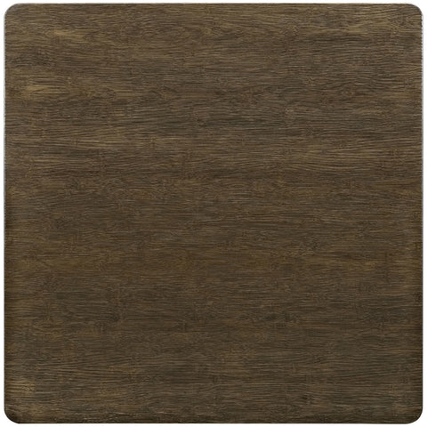 "Alacrity 36"" Square Wood Dining Table in Brown"
