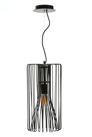 Farsund Pendant Lamp In Black