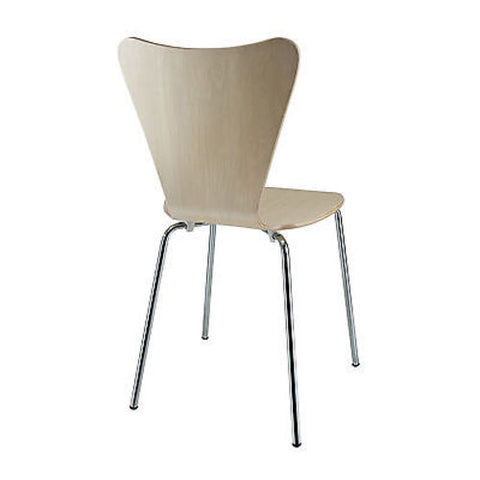Jacobsen Style Series Seven Chair in Natural Wood