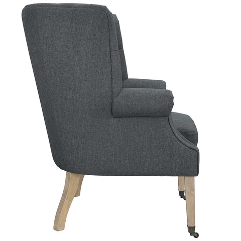 Chart Lounge Chair in Gray