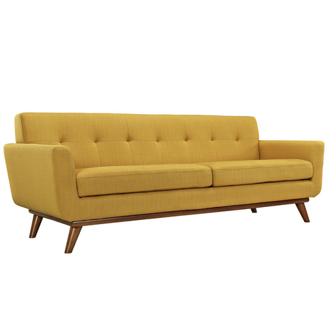 Engage Upholstered Sofa in Citrus