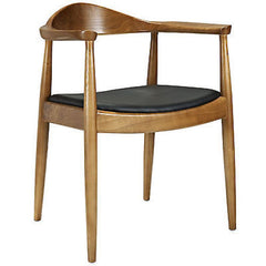 Hans Wegner Style Presidential Election Round Chair - Mid Mod Finds