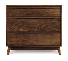 Catalina Three Drawer Dresser by Copeland - Mid Mod Finds