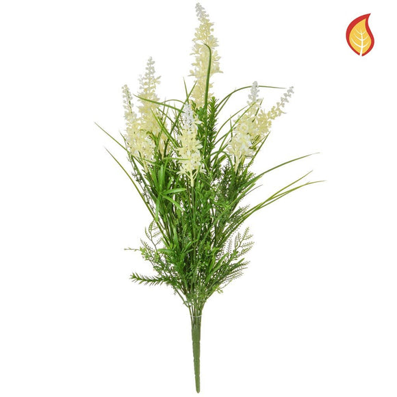 Grass Mix with White FY 44cm - Fire Rated