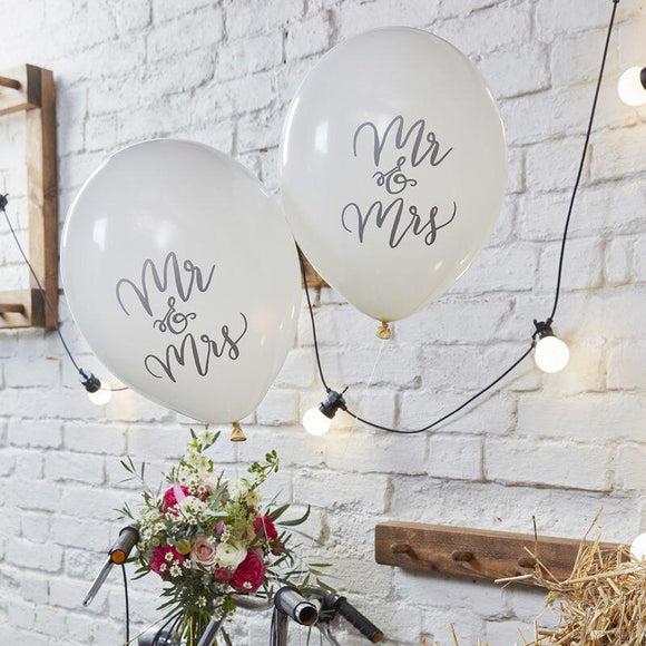 Boho - Balloons - Just Married