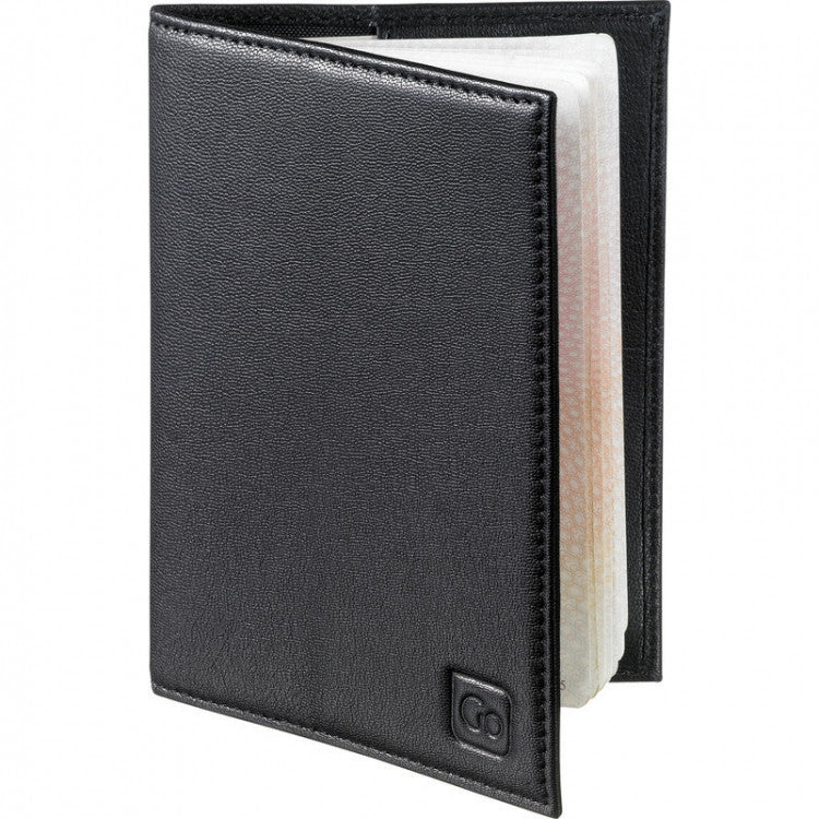 Design Go - RFID Blocking Leather Passport Cover - Edwards Everything Travel