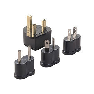 Voltage Valet - Travel Adaptor Plugs - Set of 4 - Edwards Everything Travel