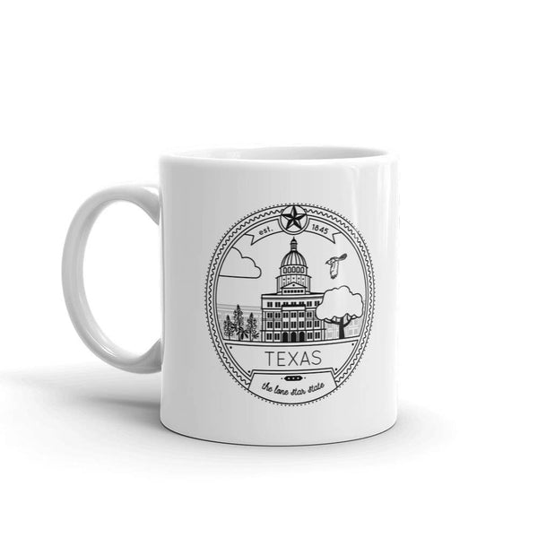 11oz Texas Seal Mug