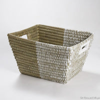Light and Shade Laundry Basket