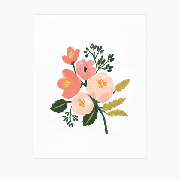 Rose Botanical Art Print