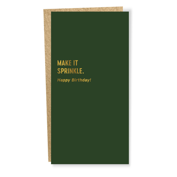 Make it Sprinkle Birthday Card