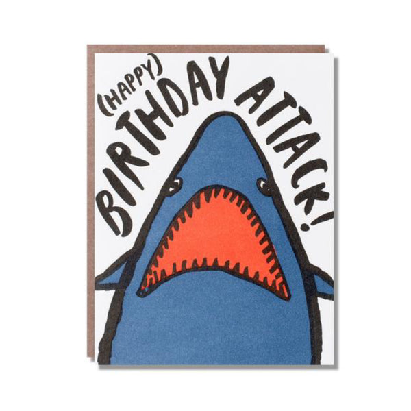 Happy Birthday Attack Card