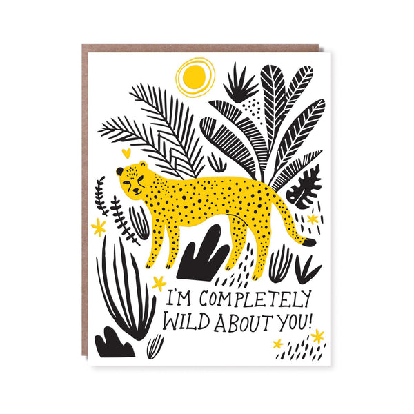 Completely Wild About You Card
