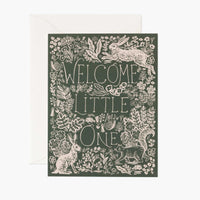 Fable Baby Card