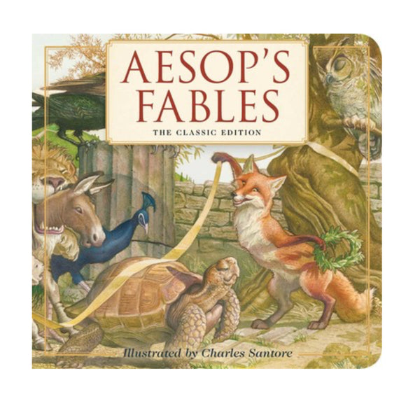 Aesop's Fables Board Book