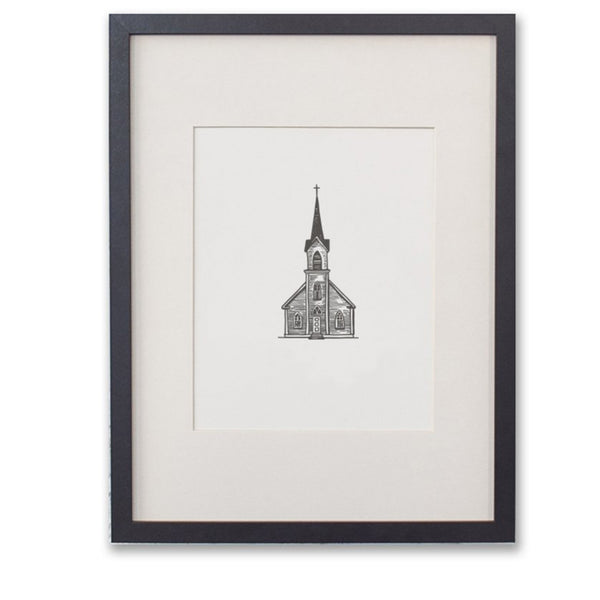 Country Church Print
