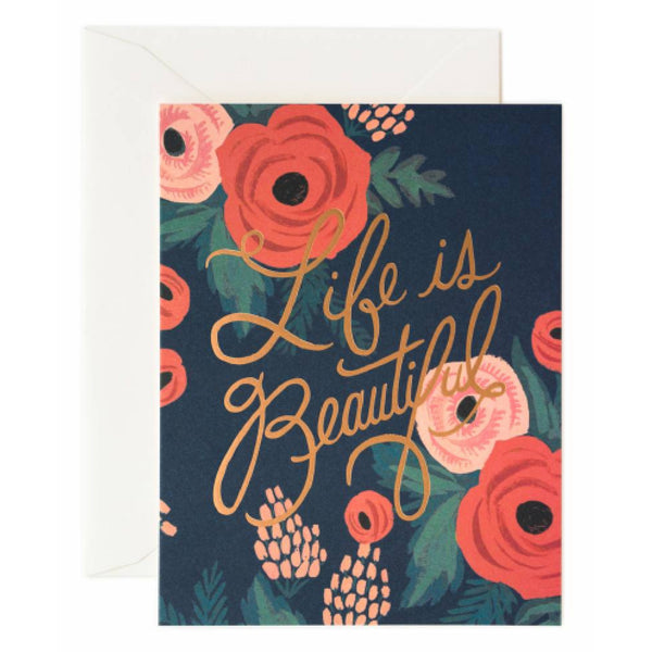 Life is Beautiful Card