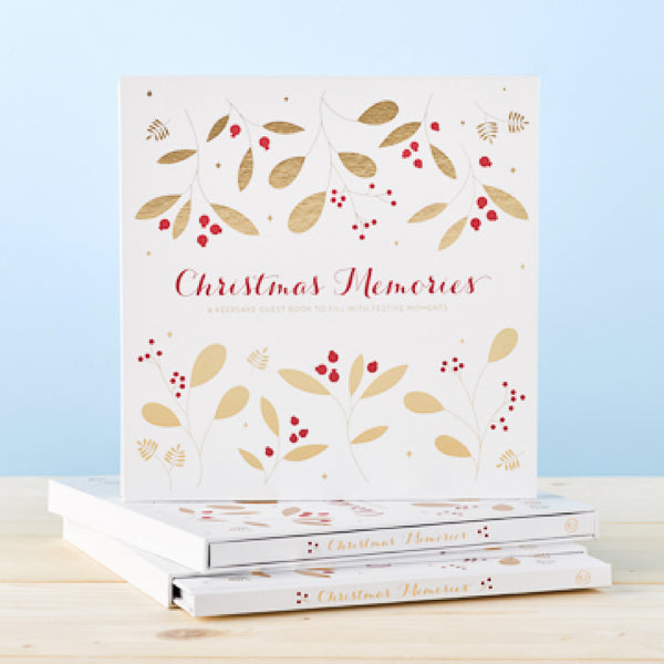 Christmas Memories Guest Book