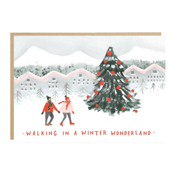 Walking in a Winter Wonderland Card