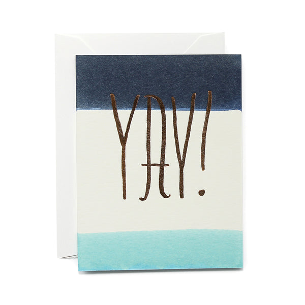 Indigo Yay Card