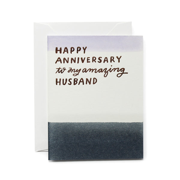 To My Amazing Husband Card