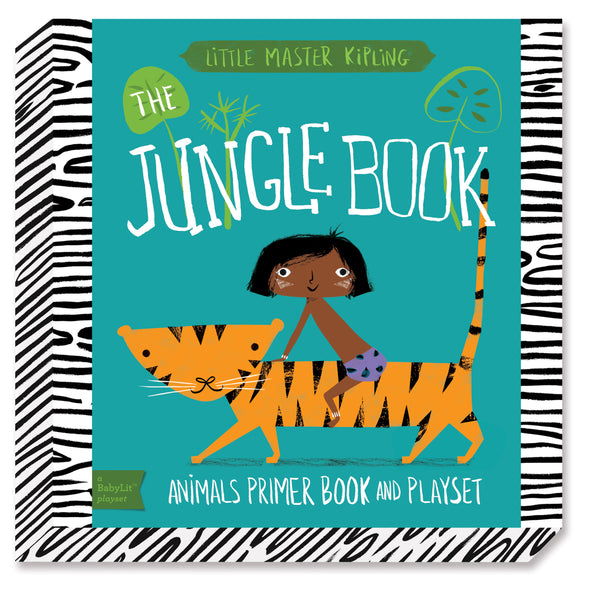 The Jungle Book: A BabyLit® Animals Primer Board Book and Playset