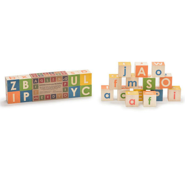 Upper & Lowercase ABC Blocks - Uncle Goose