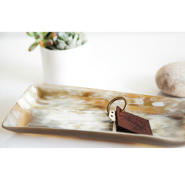 Ankole Horn Heirloom Tray