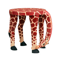 Children's Giraffe Stool