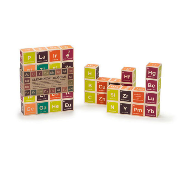 Periodic Table Blocks - Uncle Goose