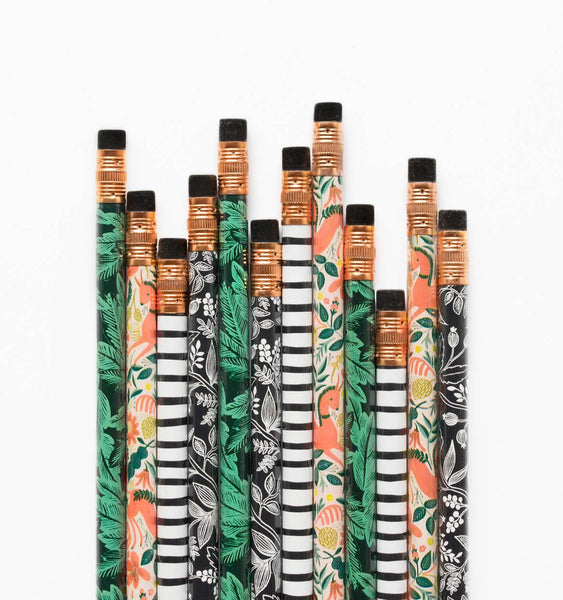 Rifle Paper Assorted Writing Pencils