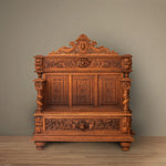 Antique French Entry Bench