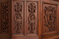 Antique French Court Cupboard, 1880s