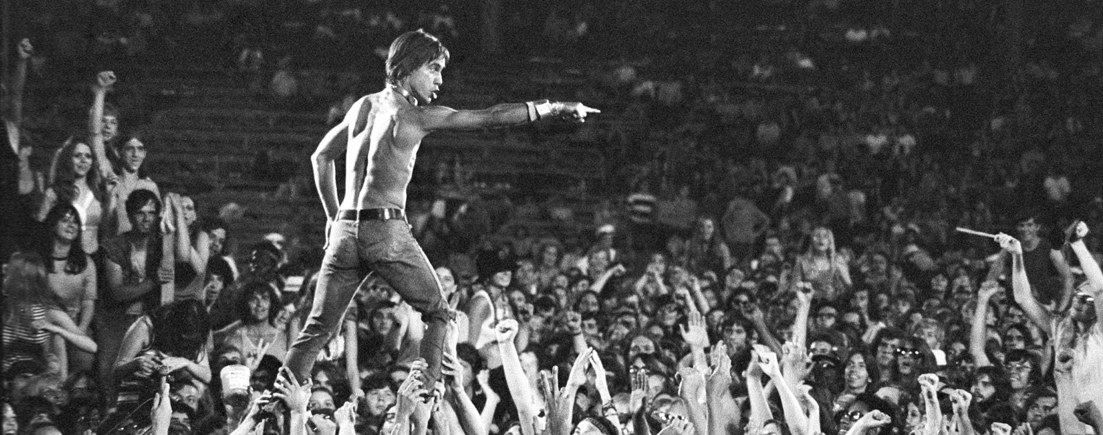 Punk Band The Stooges