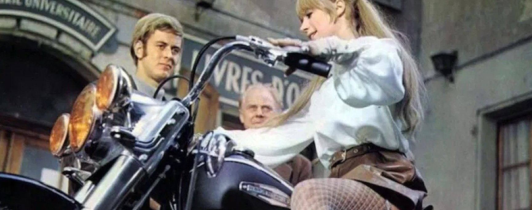 The Girl with the Motorcycle Film