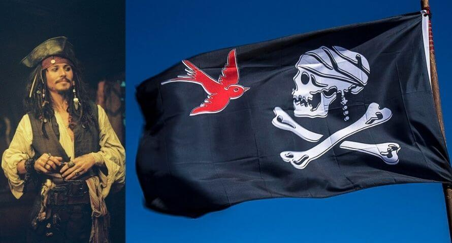 Piratenflagge jack sparrow