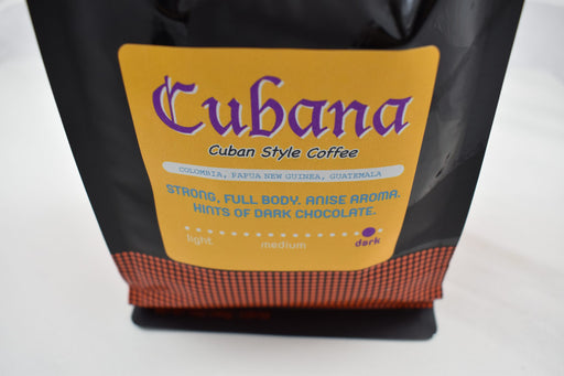 Ground Cubana Blend Coffee - Bold Xchange black owned brand black owned gifts