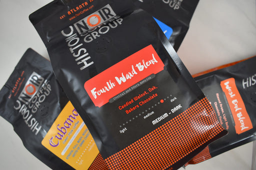Whole Bean Fourth Ward Blend Coffee - Bold Xchange black owned brand black owned gifts