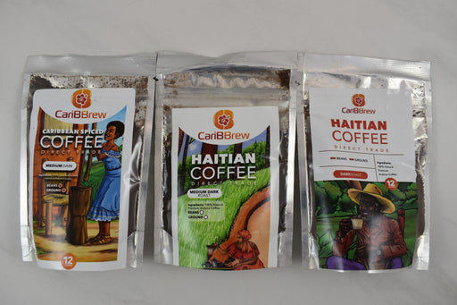 Haitian Coffee Sampler - Bold Xchange black owned brand black owned gifts
