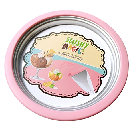 Lacreme Magic Pan Ice Cream Maker (Recipe Book Included)