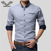 VISADA JAUNA Business Long Sleeve Slim Fit Shirt
